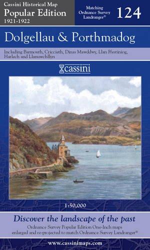 Dolgellau and Porthmadog (Cassini Popular Edition Historical Map) pdf