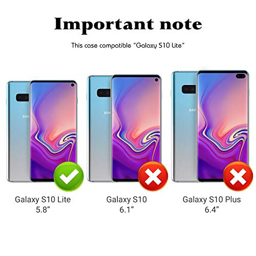 KASOS Phone Case for Samsung Galaxy S10e Case Butterfly Love Reinforced Drop Protection Hard PC Back Flexible TPU Bumper Protective Case by KASOS (Image #6)