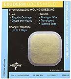 Medline MSC5522 Exuderm Odorshield Hydrocolloid, 2'' x 2'' (Pack of 10)