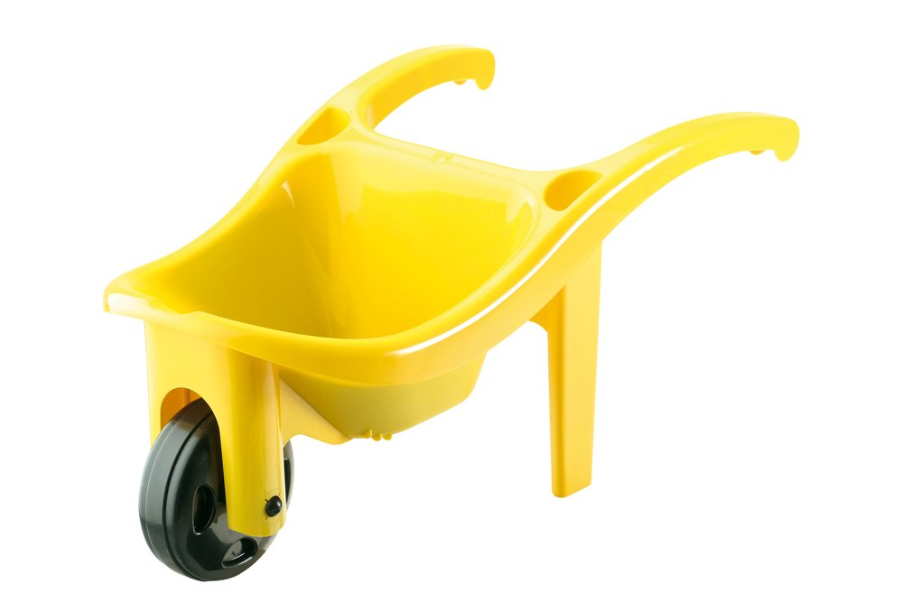 Wader Quality Toys Brouette 64cm Rouge/Jaune 39545