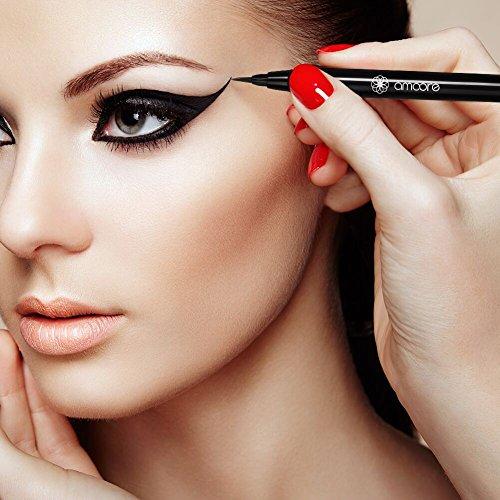amoore Liquid Eyeliner Waterproof Eye Liner Black