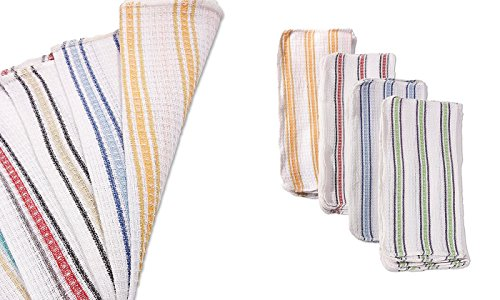 Better Home 24-Pack Dish Cloths, Colors May Vary, 12x12 Inch by Better Home (Image #1)