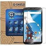GizzmoHeaven Motorola Google Nexus 6 G-Shield Tempered Glass Screen Protector Anti Scratch Ultra Clear 9H Hardness 0.33mm