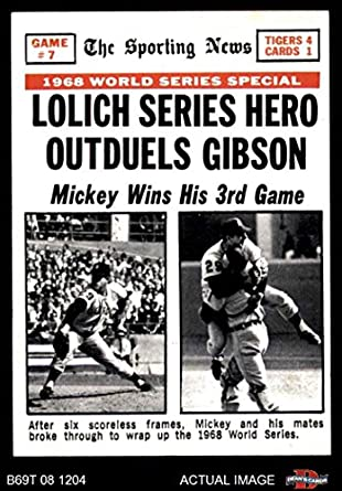 Image result for 1968 world series game 7 images images