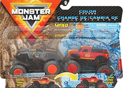 Monster Jam Color Change Max D Vs. Radical Rescue
