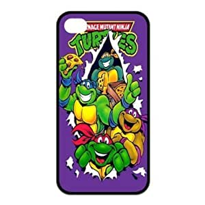 Mystic Zone Cool Ninja Turtle iPhone 4 Case for iPhone 6 4.7 Cover Cartoon Fits Case KEK1022