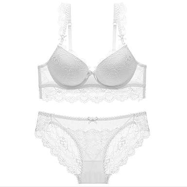 Glbra Recopilación, ropa interior de encaje sexy, mujeres jóvenes, conjunto sujetador ropa interior: Amazon.es: Ropa y accesorios
