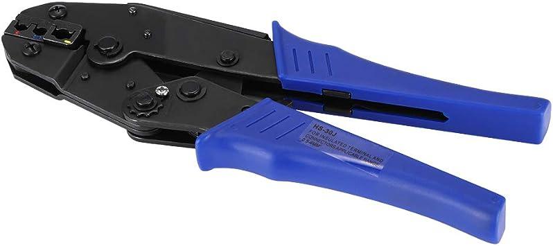 700PCS Embout de Fil Stripper Crimper Cable Jeu de Pinces Lug Connecteurs /électriques Ratchat Auto-r/églable 0,5-6 mm/² Outil de Sertissage de Fil Konesky Pince /à Sertir
