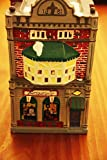 Department 56 Snow Village / Cobblestone Antique Shop / 1988 / The Snowhouse Series / X-Mas Season Collectible Keepsake by Department 56