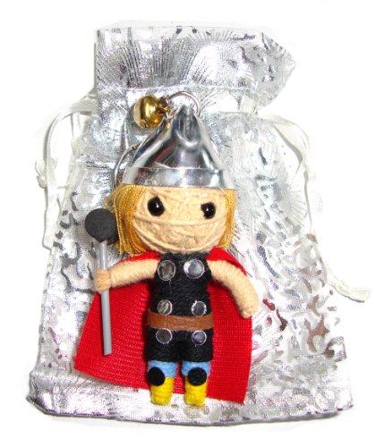 Thor Chris Hemsworth Voodoo String Doll Keyring Keychain
