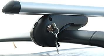 VDP Alu Relingtr/äger Rio 135 kompatibel mit Renault Scenic ab 13 Dachtr/äger bis Schlo/ß