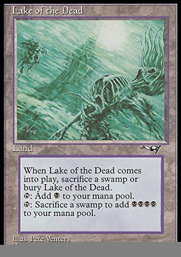 Lake of the Dead ~ Alliances ~ Excellent ~ Magic The Gathering