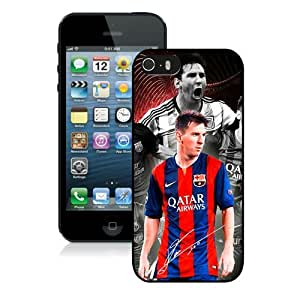 Hot Sale iPhone 5 5S Screen Case ,Soccer Player Lionel Messi 39 Black iPhone 5 5S Cover Unique And Popular Designed Phone Case