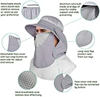 Sun Protection Wide Brim Bucket Hat With Removable Mosq Upf 50 Unigear Sun Hat