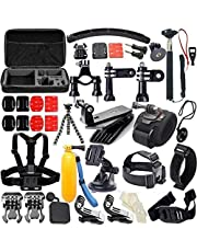 Gopro Hero 5 Outdoor Sports Action Camera Accessories Kit for GoPro Hero4/3/2/1 Common Camcorder Bundles