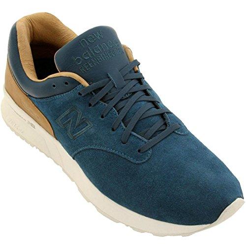New Balance - Zapatillas para hombre Azul Blau Weiß Braun