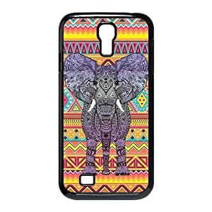 Customiz Animal Aztec Elephant Back Cover Case for Samsung Galaxy S4 i9500