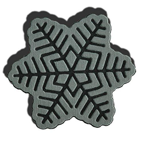 ToeJamR Stomp Pad - Snowflake - Gray by Toejamr