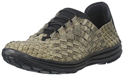 Victoria Cellars (Bernie Mev Women's Victoria Walking Shoe, Bronze, 37 EU/6.5-7 M US)