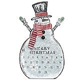 Sunnyglade Christmas Advent Calendar Metal