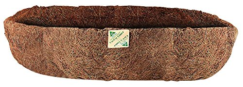 Gardman R877 Trough Shaped Coco Liner, 24'' Wide x 7'' High by Gardman