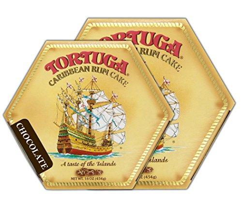 Tortuga Caribbean Chocolate Rum Cake, 16-Ounce Box - Pack of - Cake Chocolate Rum