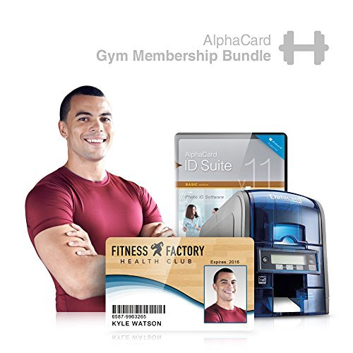 Gym Membership Id Card Printer System For Fitness Centers  Everything You Need For Your Business  Alphacard Printer  Membership Id Design Software  Id Supplies