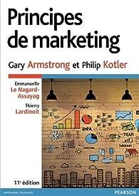 Principes de marketing 11e ed par Philip Kotler