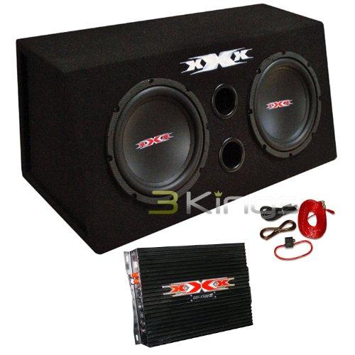 Subwoofer Boxes Audio Car (XXX XBX-800B 2) DUAL 8