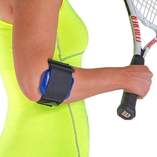 (Tennis Elbow Gel Strap / Cold Therapy Arm Band)