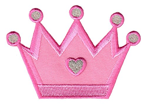 PatchMommy Iron On Patch, Princess Crown - Appliques for Kids ()