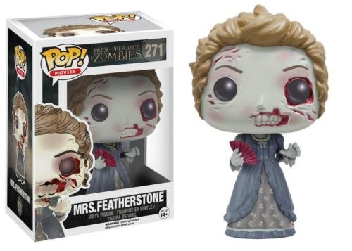 Funko POP! Movies Pride, Prejudice & Zombies Mrs. Featherstone Vinyl Figure 271 by Unbranded*