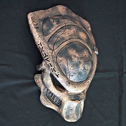 1:1 Full Scale Prop Replica Steampunk Predator AVP Helmet Mask Home Decoration Wall hanging Brother Boar PD19 (Predator Prop Mask)
