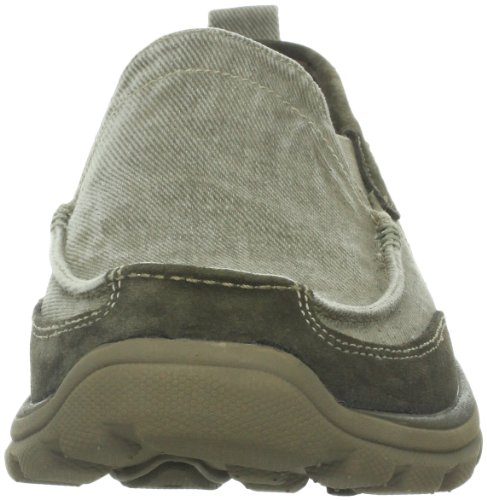 Skechers Superior-Melvin Loafers Shoes Mens New/Display Taupe xLzG8QFhP