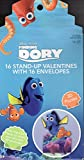 Finding Dory 16 Stand Up 3D Puzzle Valentine's Day Cards with Envelopes Set