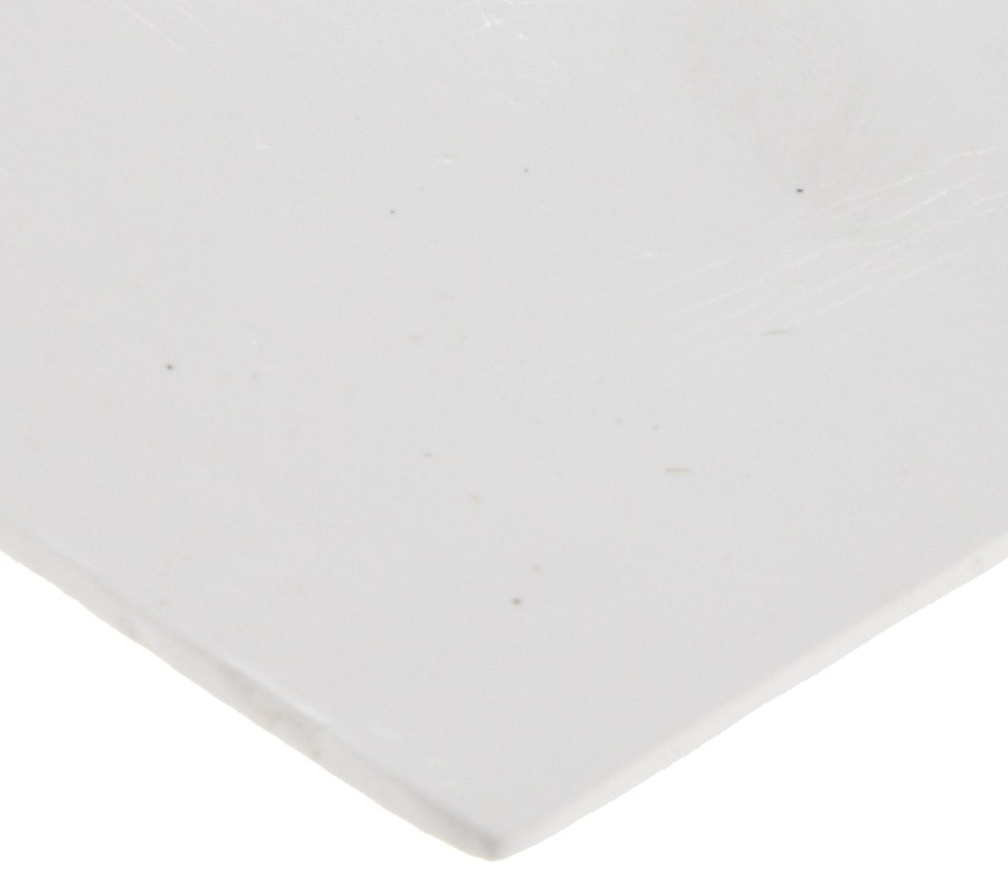Gore-Gr Expanded PTFE Sheet Gasket, White, 1/8'' Thick, 6'' × 6'' (Pack of 1) by Small Parts