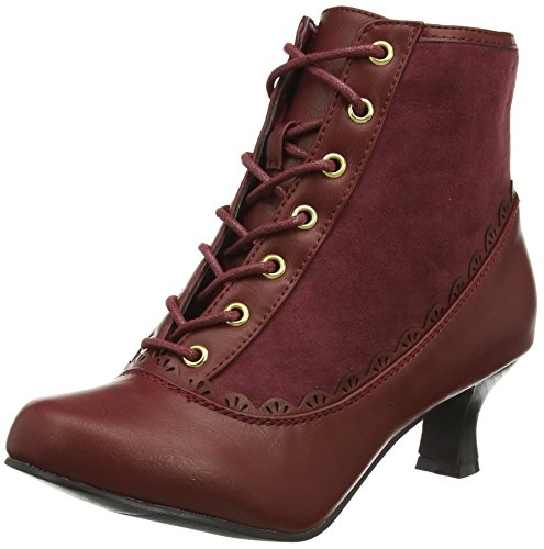 Joe Browns More Than Cute Ankle Boots - Botas Mujer Rojo (Red)