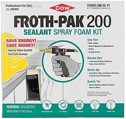 Dow Sellador (Sistema de aislamiento de espuma de aerosol) 1.75 ...