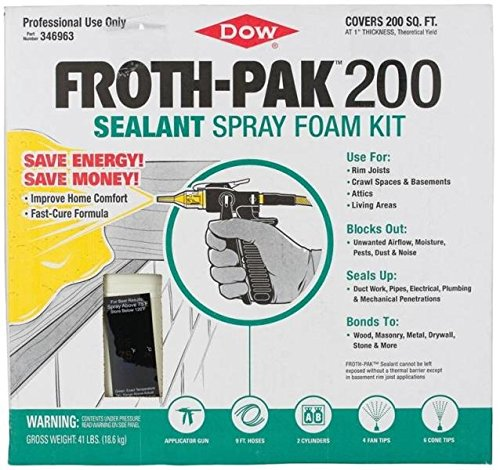 Froth-PAK 200 (1.75 PCF) Sealant product image