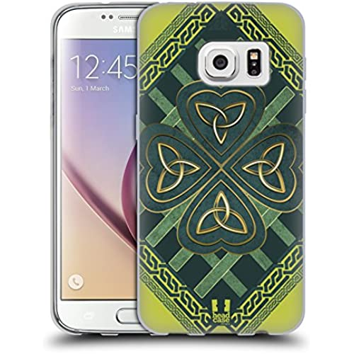 Head Case Designs Trinity Triquetra Celtic Shamrock Soft Gel Case for Samsung Galaxy S7 Sales