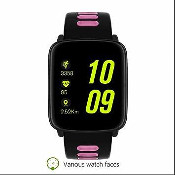 Reloj Inteligente Smartwatch Bluetooth Reloj Deportivo con Análisis de Sueño,Podómetro,Anti-pérdida