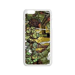 diy zhengHappy Teenage Mutant Ninja Turtles Design Pesonalized Creative Phone Case For iPhone 6 Plus Case 5.5 Inch