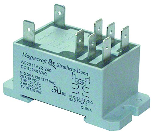 - Schneider Electric/Legacy Relay 92S11A22D-120 Power Relay, Dpdt, 120VAC, 30A, Din Rail