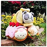 Anirollz Plush Doll Pandaroll with Banana Blanket
