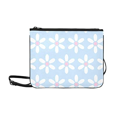 d8d2f4645496 Pink Blue Flowers Polka Dot Clipart Pattern Custom High-grade Nylon ...