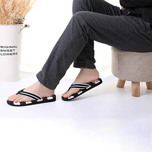 Nero EU 38 Sandali da Donna da Estate Donna Infradito da Spiaggia con xgx