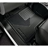 Husky Liners Custom Fit Heavy Duty Rubber Front Floor Mat - Pack of 2 (Grey)