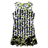Peter Pilotto for Target Dress -Green Floral Print Size M