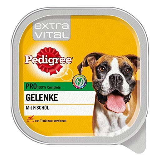 Pedigree Extra Vital Hundefutter Pro Gelenke, 10 Schalen (10 x 300 g)
