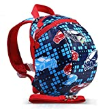Toddler Safety Harness Mini Backpack with Tether Strap (Car)